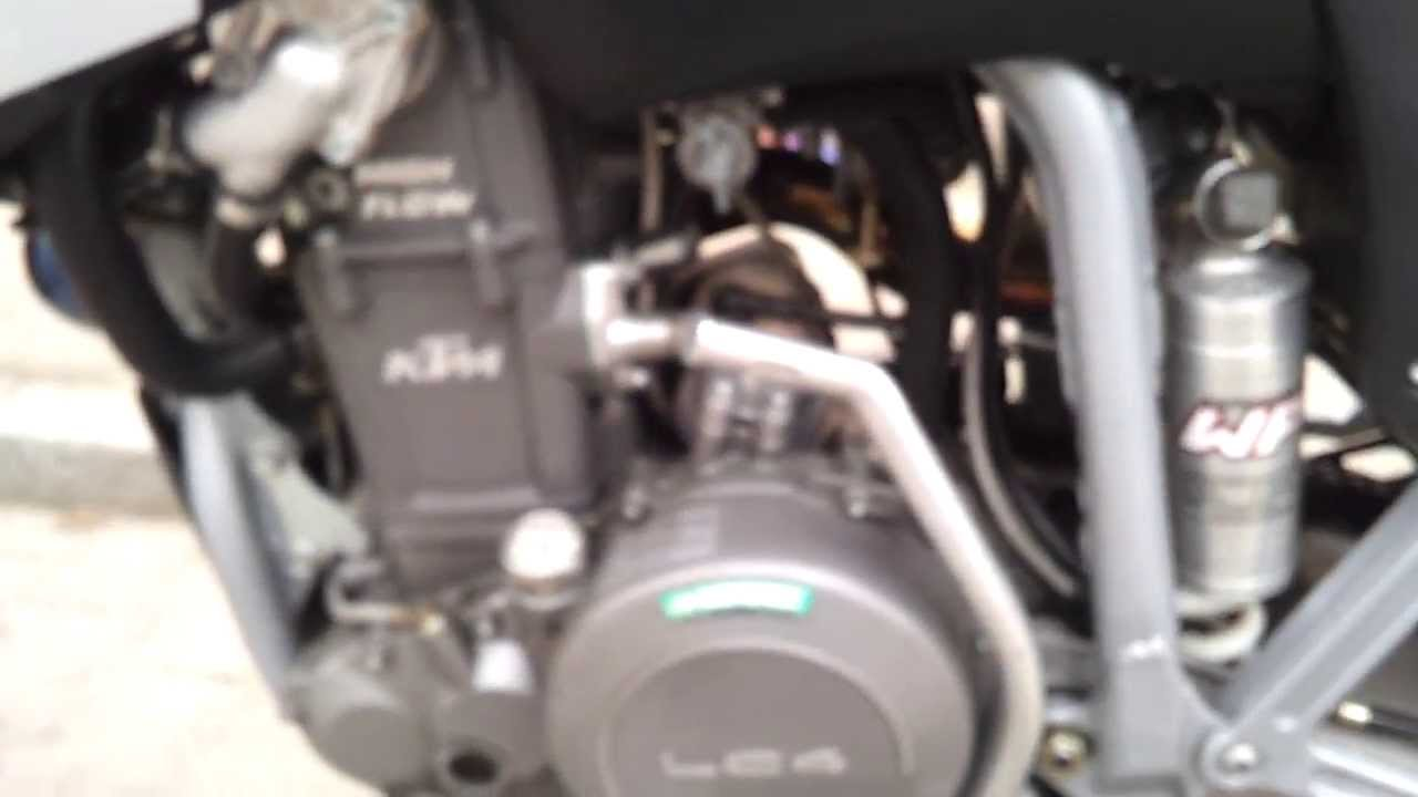 ktm lc4 640 motor - motorgeräusch bei 60°c Öltemperatur - youtube
