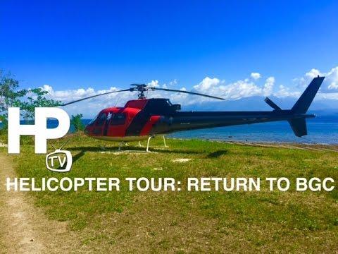 Helicopter Tour: Verde Island Return to Bonifacio Global City Metro Manila by HourPhilippines.com