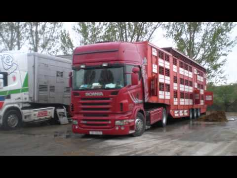 Traveling with SCANIA R5oo V8 Hungary-Turkey