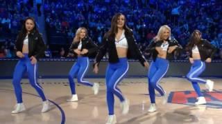 Knicks City Dancers 2/25/17