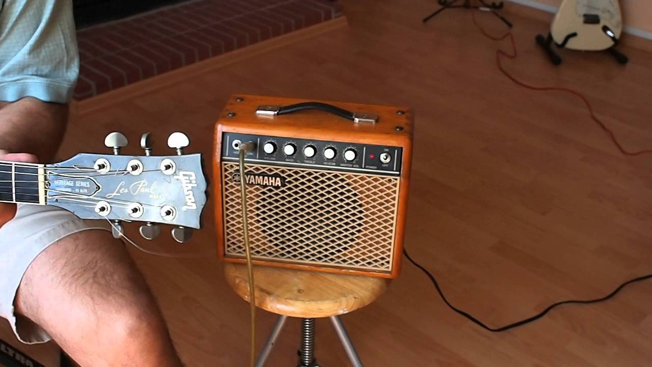 Yamaha Nippon Gakki G 5 Small Guitar Amp Youtube