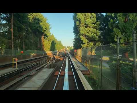 Vancouver SKYTRAIN END-TO-END RIDE: EXPO LINE EASTBOUND Waterfront To Production Way-University
