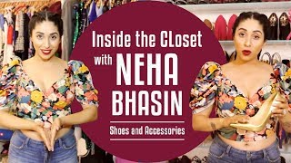 Inside the wardrobe with Neha Bhasin Shoes and Accessories