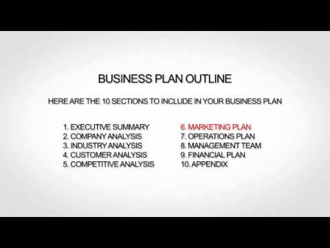 Outline Of A Business Plan Outline Of A Business Plan - Retail business plan template free
