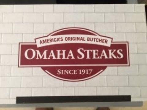 Omaha Steak UnBoxing