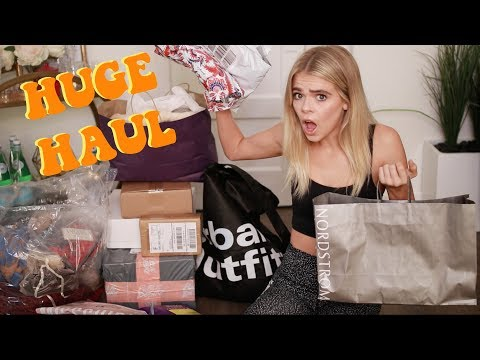 MY BIGGEST TRY ON HAUL EVER!! (19+ STORES) | Griffin Arnlund