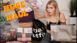 MY BIGGEST TRY ON HAUL EVER 19 STORES  Griffin Arnlund