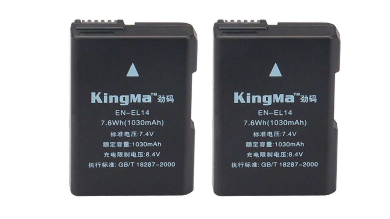 Аккумулятор en el14 nikon аналог купить цена d3100 d3200 d5100 d5200 p7000 p7100 p7700.