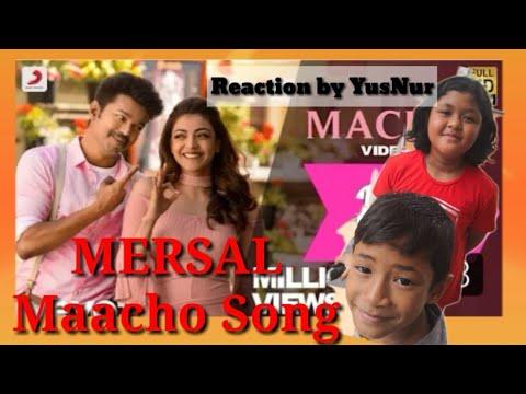 Mersal | Maacho Tamil Video | Vijay | Kajal Agarwal | A. R. Rahman