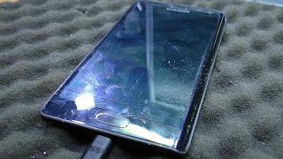 Разбито стекло тачскрина / Замена модуля дисплея. Samsung Galaxy Note Edge SM-N915F