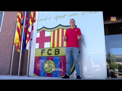 """Cillessen: """"I'm very happy to stay at Barça"""""""