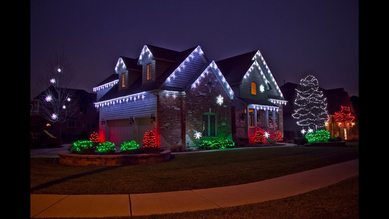 christmas lights installation lonetree co 303 963 9874 youtube - Professional Outdoor Christmas Decorations