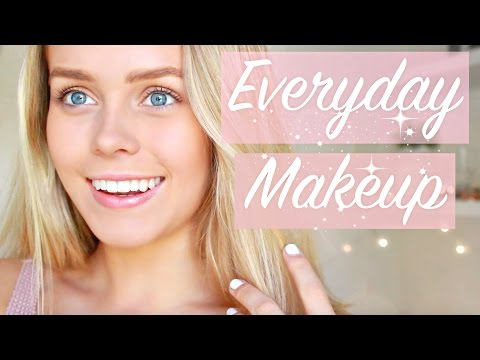 Simple Everyday 5 Minute Natural Look Makeup
