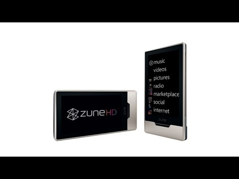 Zune HD 32 GB Video MP3 Player Platinum With OLED Touchscreen, HD Radio and HD Compatible Video
