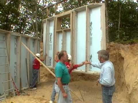How to Frame Walls - Cabin in the Woods -  Bob Vila eps.1101