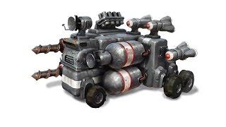 Обзор игры TerraTech. Собирать машину для убийства на ваш вкус. Это круто!!!
