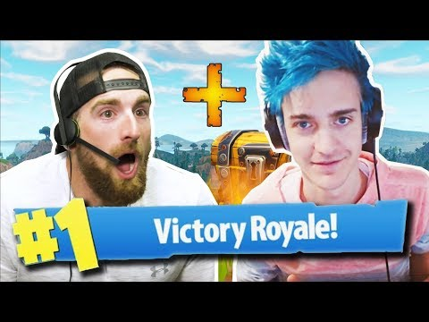 Fortnite with Ninja | Dude Perfect thumbnail