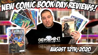 New COMIC BOOK Day REVIEWS 8/12/2020 | Secret Seven | Venom Beyond | Joker War!