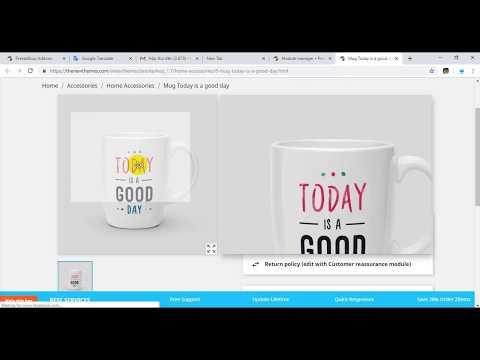 Zoom Product Image Prestashop Module