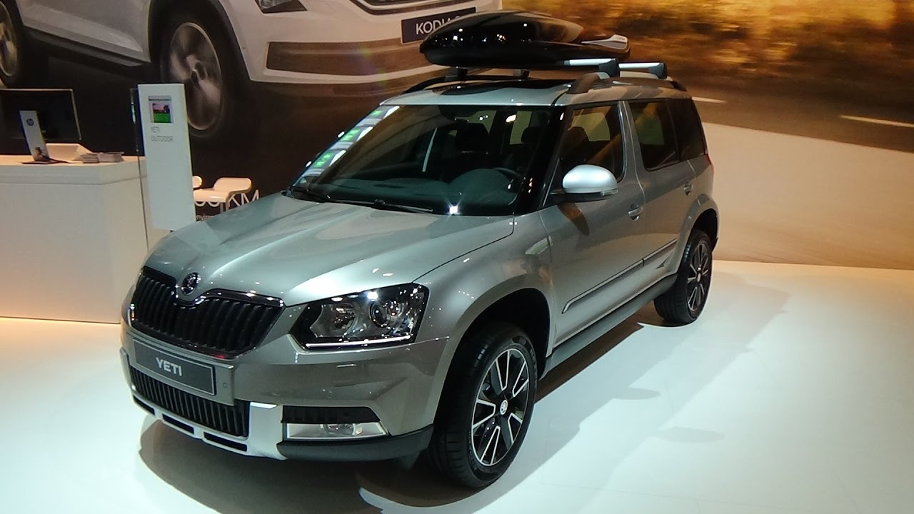 2017 Skoda Yeti Outdoor Exterior And Interior Auto Show Brussels