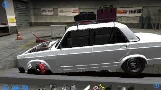 Как поднять машину на подъёмник в SLLR.