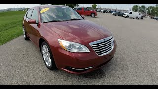 2013 Chrysler 200 LX Red | Great Gas Mileage | Indianapolis, IN | P9937
