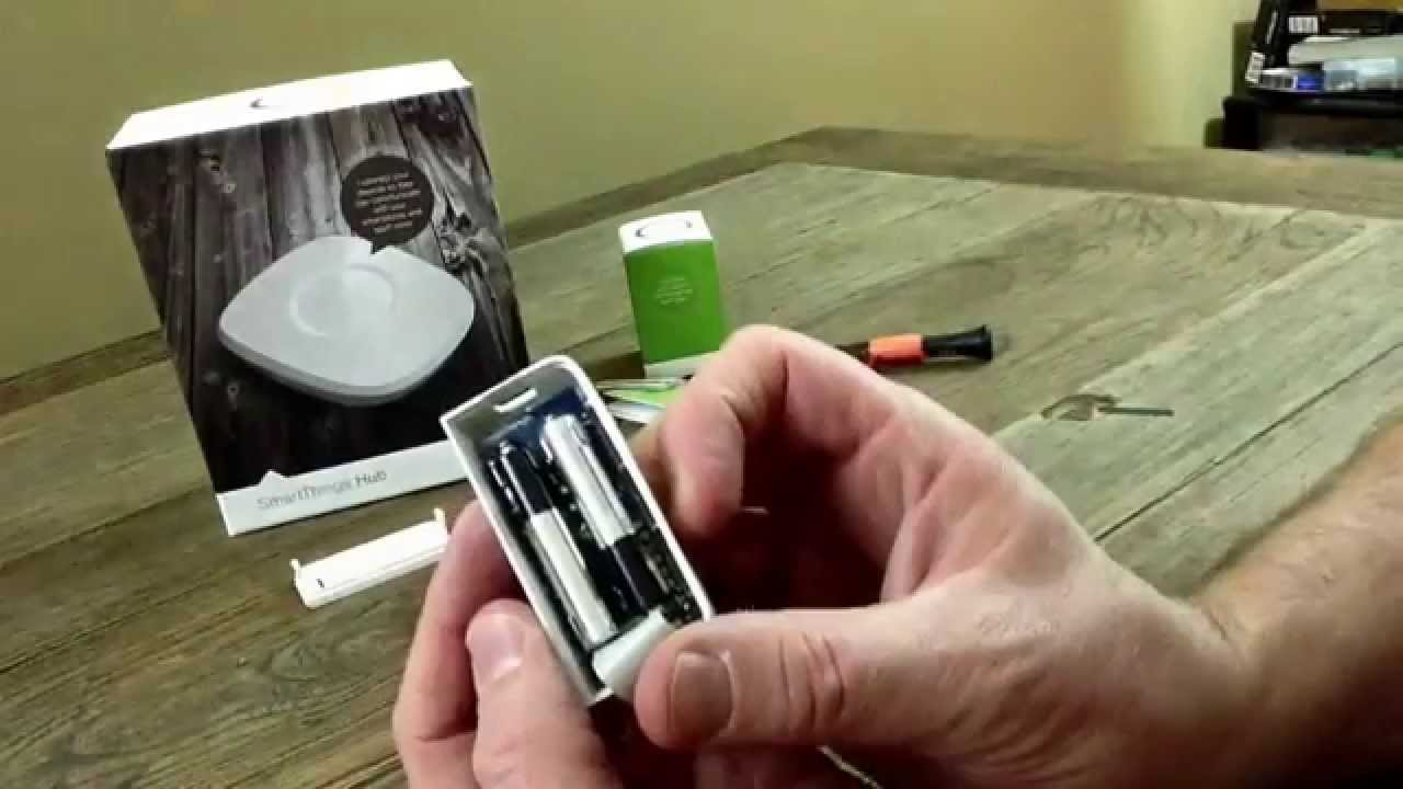 SmartThings Multi Sensor Demo