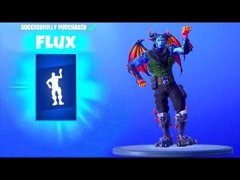 *NEW* FLUX DANCE EMOTE..! (New Item Shop) Fortnite Battle Royale