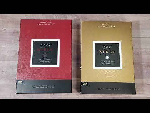 Maclaren Series Indexed Edition Bibles