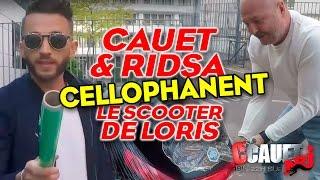 CAUET ET RIDSA CELLOPHANENT LE SCOOTER DE LORIS MP3