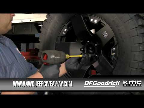 Jeep Tires & Wheels Winner: Installing BFG Tires & KMC Wheels