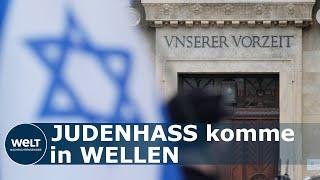 Die antiisraelischen demonstrationen auf deutschen straßen zeigen, dass der antisemitismus wohl weiter verbreitet ist, als es viele glauben wollen. dieser of...