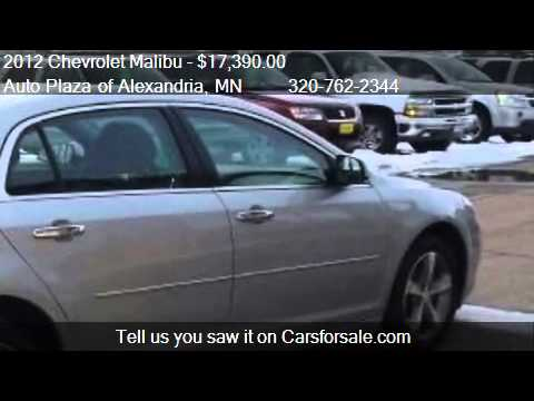 2012 Chevrolet Malibu 2LT - for sale in Alexandria, MN 56308 from YouTube · Duration:  2 minutes 13 seconds