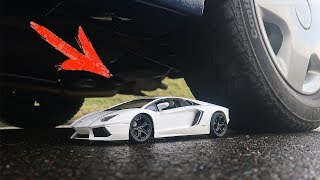RC TOY Lamborghini vs CAR