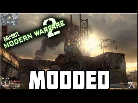 PLAYING THE MODDED MODERN WARFARE 2! (IW4x) - YouTube