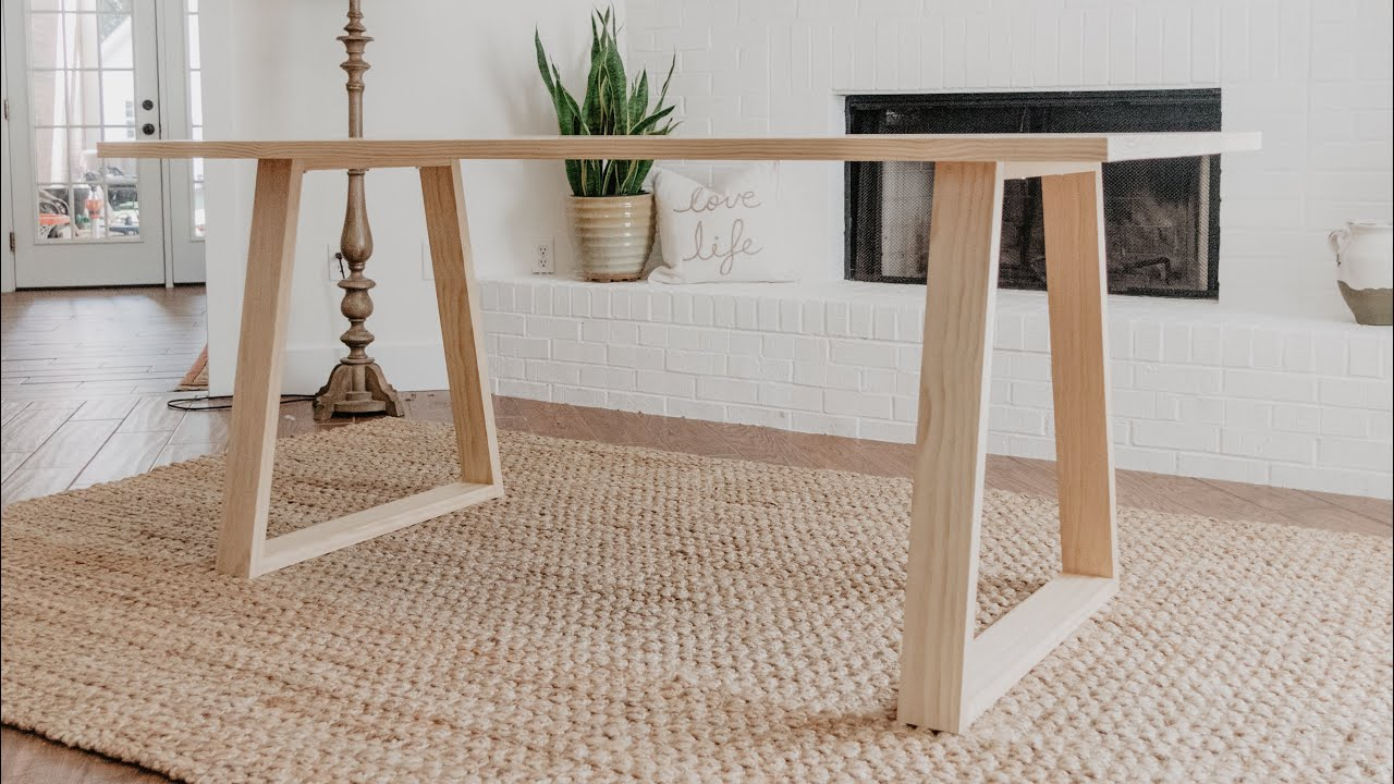 Diy Modern Dining Table Woodbrew