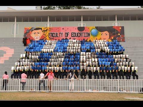สแตนด์คณะครุศาสตร์ รอบบ่าย สุนันทาสามัคคี ครั้งที่ 26