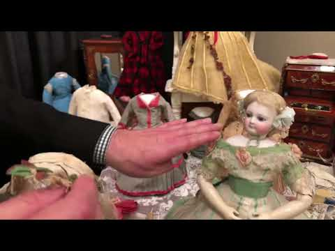 Ruby Lane Doll Talk with Michael Canadas Live at UFDC
