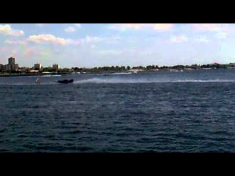 Speedboats in Istanbul