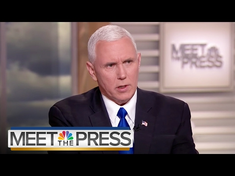 Mike Pence: Travel Ban On Solid Constitutional Ground (Full Interview) | Meet The Press | NBC News