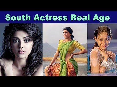 South Actress Real Age
