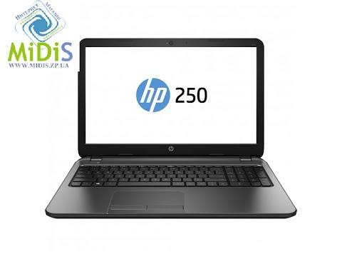 Обзор: Ноутбук HP 250 (J4T79ES) hp 250 (j4t79es)