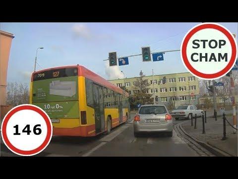 Stop Cham #146 – Niebezpieczne i chamskie sytuacje na drogach