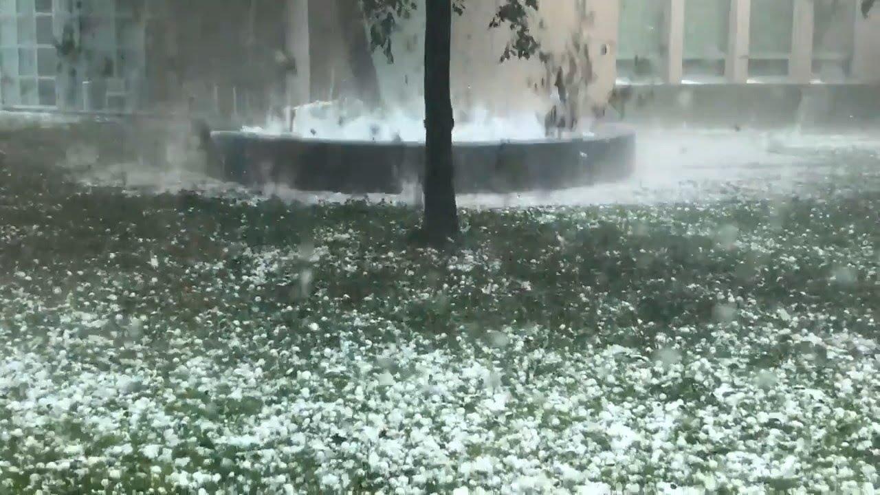 Golf ball-sized hail storm hit Australia (Jan 20, 2020)