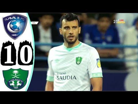 ملخص مباراة الهلال والاهلي 1 0 علي سعيد الكعبي كأس زايد للأندية