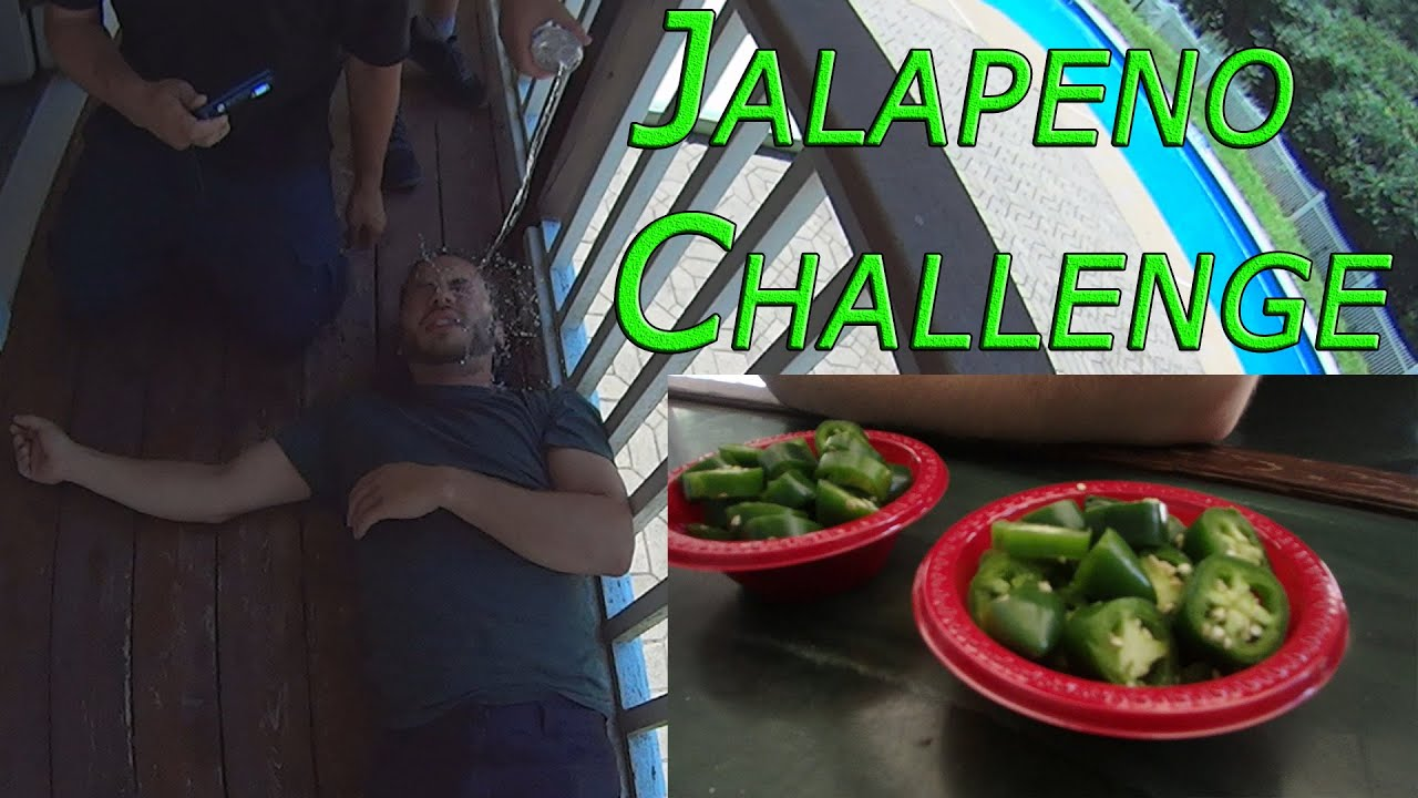 Jalapeno Challenge GONE WRONG! -- Featuring Jay Karl's MadHouse