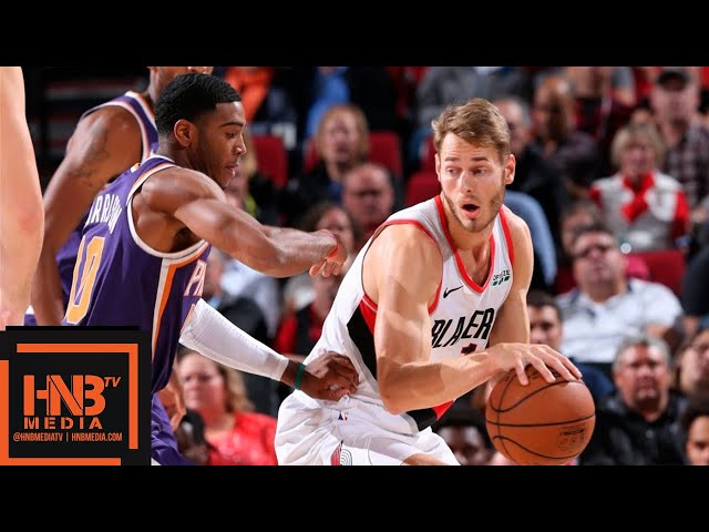 Portland Trail Blazers vs Phoenix Suns Full Game Highlights | 10.10.2018, NBA Preseason