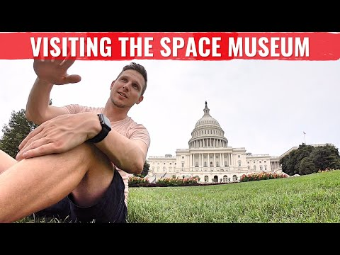 A day at the Air and Space Museum in Washington D.C.