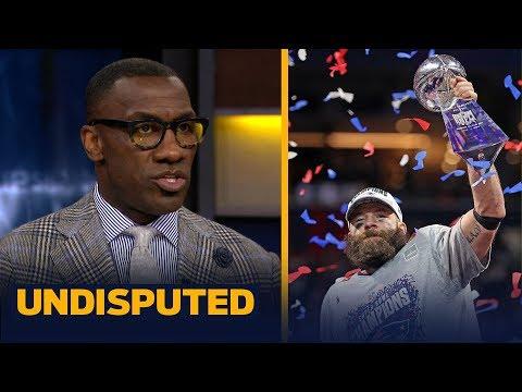 Shannon Sharpe on why a defensive player deserved SBLIII MVP — not Julian Edelman | NFL | UNDISPUTED