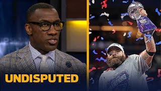 Shannon Sharpe on why a defensive player deserved SBLIII MVP — not Julian Edelman | NFL | UNDISPUTED